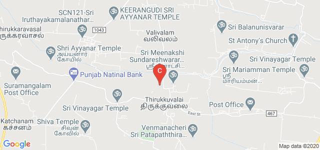 University College of Engineering Thirukkuvalai, Nagapattinam, Tamil Nadu, India