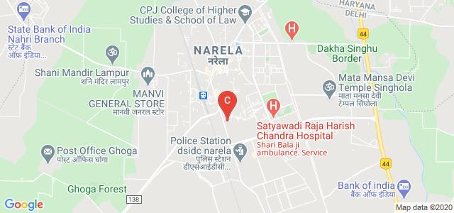 Kasturi Ram College of Higher Education, Narela Mandi, Narela, Delhi, India