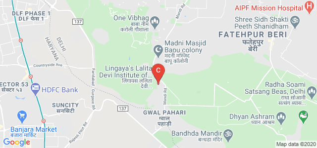 Lingaya's Lalita Devi Institute of Management & Sciences, Mandi, New Delhi, Delhi, India