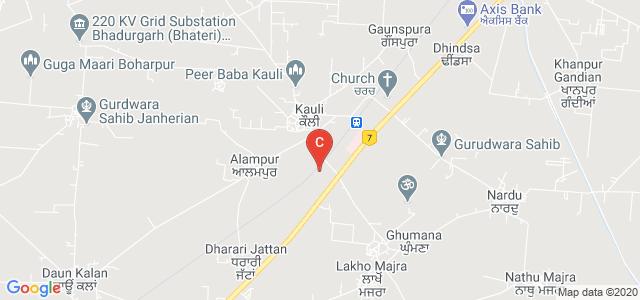 Jasdev Singh Sandhu Polytechnic, Kauli, Patiala, Punjab, India