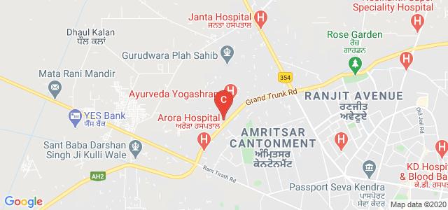 MK Group of Institutes, Amritsar By Pass Road, Phase 1, Amritsar Cantonment, Amritsar, Punjab, India