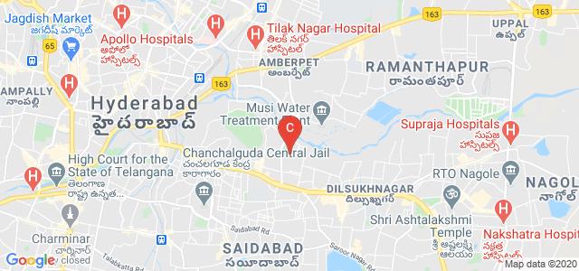 Aurora's Post Graduate College, Moosarambagh Road, Teegala Guda, East Prasanth Nagar, Moosarambagh, Hyderabad, Telangana, India