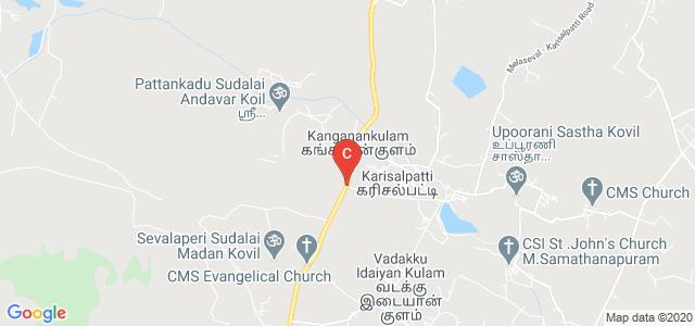 Manonmaniam Sundaranar University College, Govindaperi, State Highway 177, Govindaleri, Tamil Nadu, India