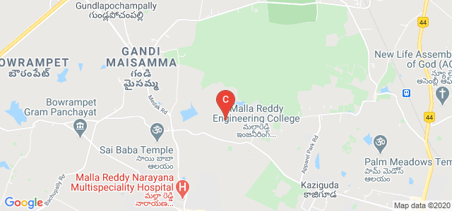 Malla Reddy University, Maisammaguda, Dulapally, Hyderabad, Telangana, India