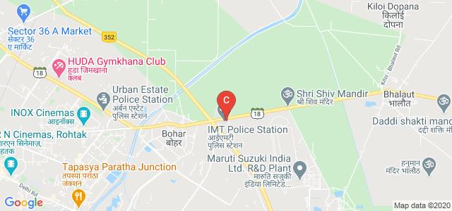 MR DAV INSTITUTE OF MANAGEMENT STUDIES, State Highway 18, Rohtak, Haryana, India
