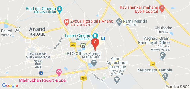 Shri D. N. Institute of Business Administration, Gamdi Vad, Anand, Gujarat, India