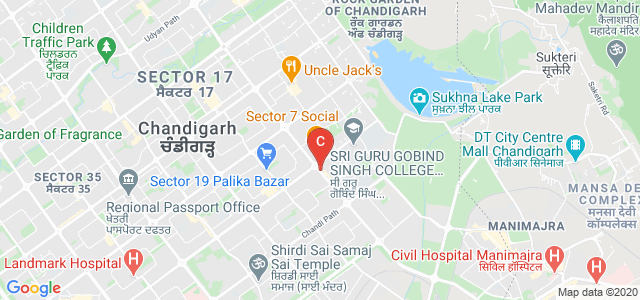 Inter National Institute Of Fashion Design, Madhya Marg, Sector 8C, Sector 8, Chandigarh, India