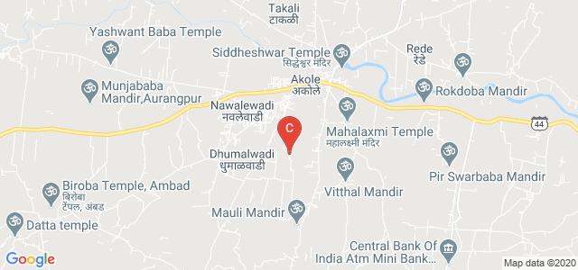 Abhinav Education Society,Akole, road, Akole, Maharashtra, India