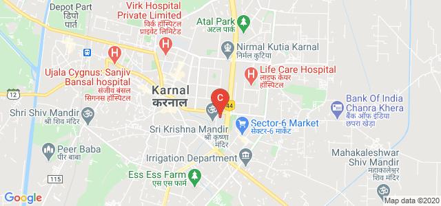 Pt. Chiranji Lal Sharma Govt. P.G. College, Subhri - Karnal Road, Urban Estate, Sector 14, Karnal, Haryana, India