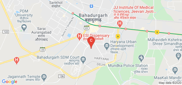 Government College Bahadurgarh, Balaur Road, Arya Nagar, Bahadurgarh, Haryana, India