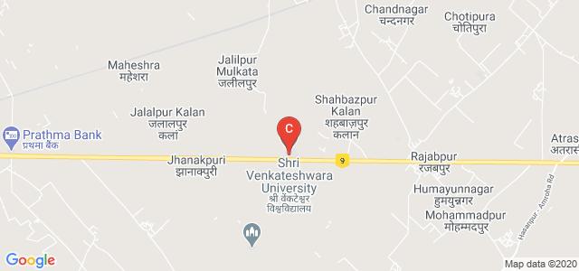 Shri Venkateshwara University, NH-24, Venkateshwara Nagar, Gajraula, Amroha, Uttar Pradesh, India