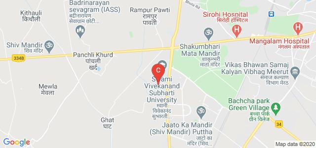 Directorate Of Distance Education, Swami Vivekanand Subharti University, Meerut, Uttar Pradesh, India
