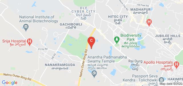 Maulana Azad National Urdu University, Weaker Section Colony, Khajaguda, Manikonda, Hyderabad, Telangana, India