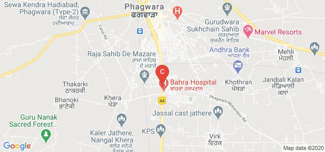 Lovely Professional University, Industrial Area, Phagwara, Punjab, India