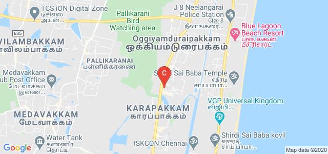 Thangavelu Engineering College, Old Mahabalipuram Rd, Karappakam, Chennai, Tamil Nadu, India