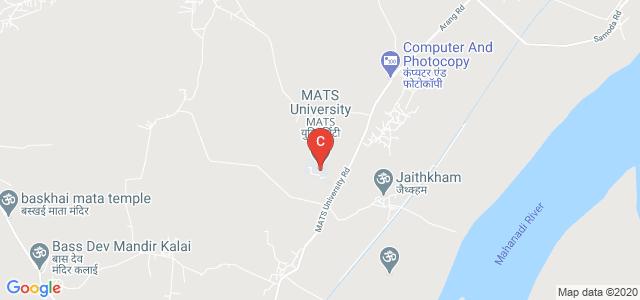 MATS University, Highway, Arang, Raipur, Chhattisgarh, India