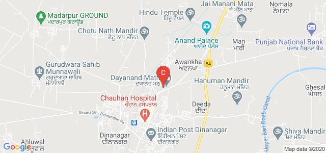 SWAMI SARVANAND INSTITUTE MANAGEMENT & TECHNOLOGY, Road, Dinanagar, Punjab, India