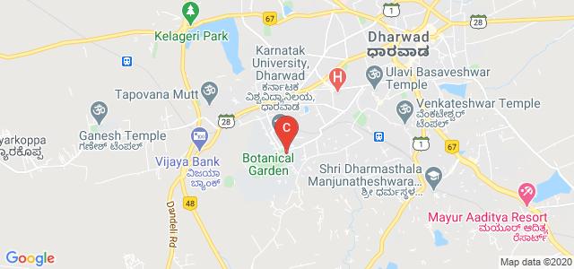 Pavate Nagar Bus Stop, Karnatak University Campus, Dharwad, Karnataka, India
