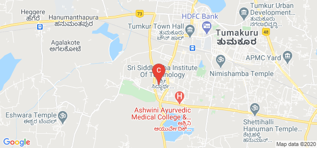 SyndicateBank Tumkur Siddhartha Inst Of Tech Branch, Tumkur-Kunigal Road, Maralur, Saraswathipuram, Tumakuru, Karnataka 572105, India
