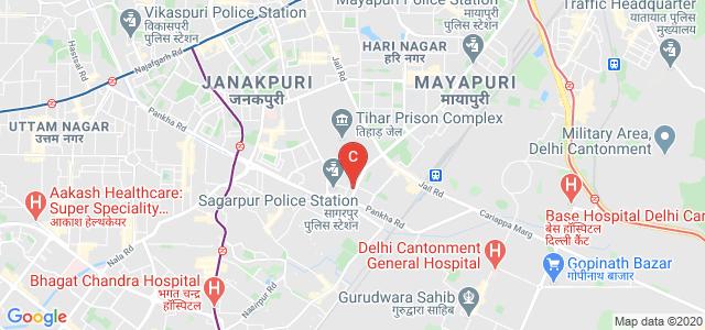 Management Education & Research Institute (MERI), Sewa Marg, Janakpuri Institutional Area, Janakpuri, New Delhi, Delhi, India