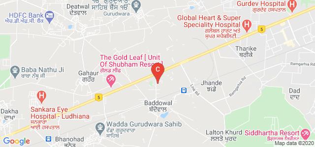 Punjab College of Technical Education, Ferozpur Rd, Boddawal, Ludhiana, Punjab, India
