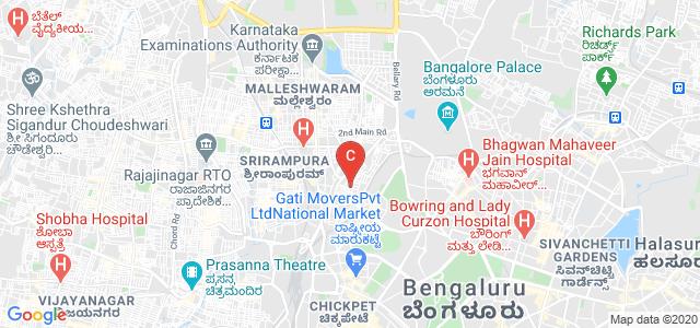 Seshadripuram Law College, Seshadripuram Main Road, 4th Block, Kumara Park West, Sheshadripuram, Bengaluru, Karnataka, India