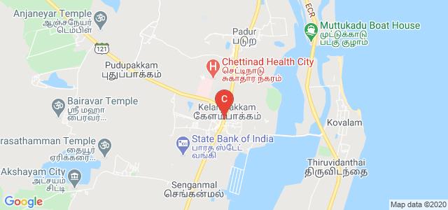 Old Mahabalipuram Road, Kalavakkam, Tamil Nadu 603110, India