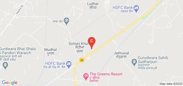 Global Institute of Management & Emerging Technologies, National Highway 54, Amritsar, Punjab, India