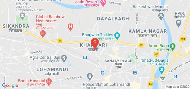 S.P.C.J. Institute of Commerce, Business Management & Economics, Nasirabad Colony, Khandari, Agra, Uttar Pradesh, India