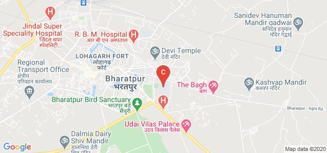 MSJ College Marg, Geeta Colony, Bharatpur, Rajasthan, India