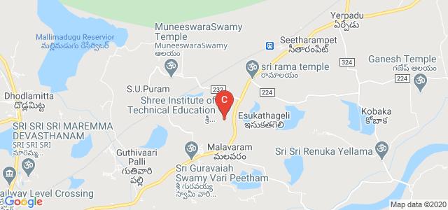Shree Institute of Technical Education, Gopalapuram, Andhra Pradesh, India