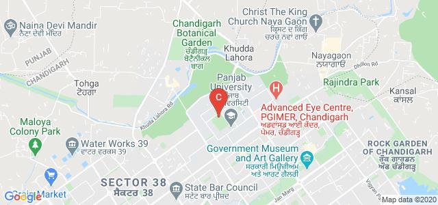 Dr. S. S. Bhatnagar University Institute of Chemical Engineering & Technology, Panjab University, Sector 14, Chandigarh, India