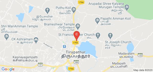Sacred Heart College (Autonomous), SH-18 Vaniyambadi Road, Tirupattur, Vellore, Tamil Nadu, India
