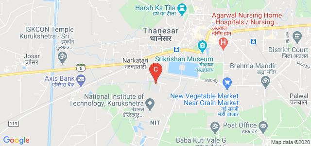 Kurukshetra University, Kurukshetra University, Thanesar, Kurukshetra, Haryana, India
