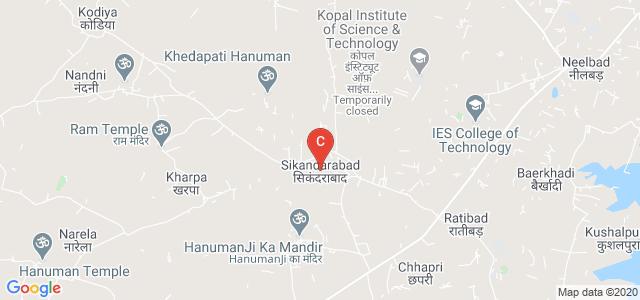 Sagar Institute of Science Technology & Research, Bhopal, Madhya Pradesh, India