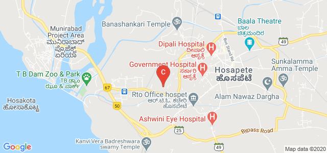 Proudadevaraya Institute of Technology, Hosapete, Tungabhadra Dam Road, Indiranagar, Hospet, Karnataka, India