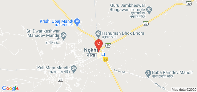 Nokha, Bikaner, Rajasthan 334803, India