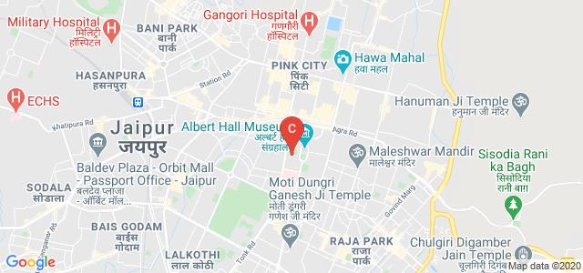 University Maharaja's College, Jaipur, Ashok Nagar, Jaipur, Rajasthan, India