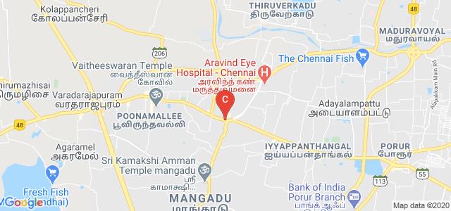 Madras Institute of Hotel Management & Catering Technology, Poonamallee High Road, near Shiridi Sai Baba Temple, MSS Nagar, Kumananchavadi, Kattupakkam, Chennai, Tamil Nadu, India
