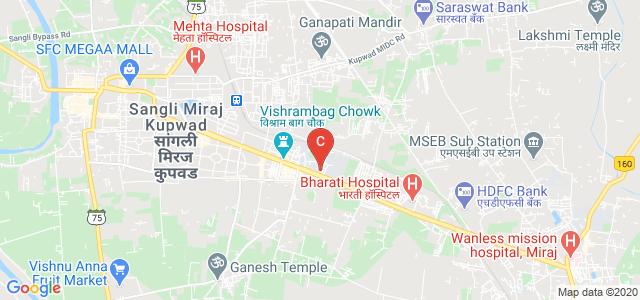 Chintamanrao Institute of Management Development And Research, Sangli - Miraj Road, Khatav, Vishrambag, Sangli, Maharashtra, India