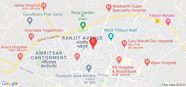 Government Medical College, Amritsar, Medical Enclave, Amritsar, Punjab, India