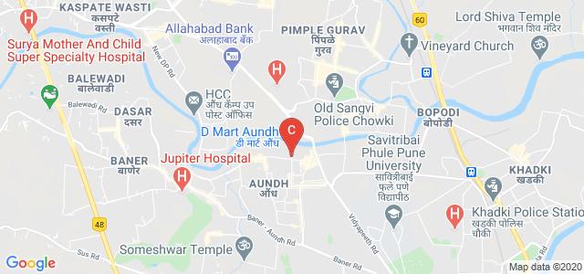 Mahadji Shinde Rd, Aundh, Pune, Maharashtra, India