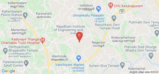 Rajadhani Institute of Engineering and Technology, Kallambalam - Nagaroor Road, Attingal, Kerala, India