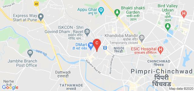 Dr. D.Y. Patil Institute of Engineering, Management and Research, Gurudwara Colony, Nigdi, Pimpri-Chinchwad, Maharashtra, India