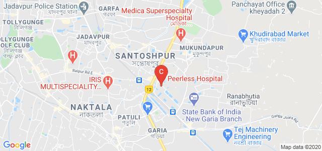 Peerless Hospital, Pancha Sayar Road, Sahid Smirity Colony, Pancha Sayar, Kolkata, West Bengal, India