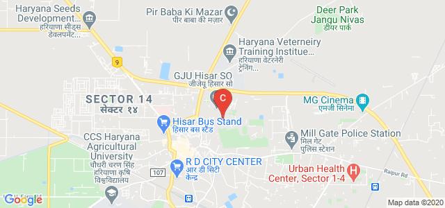 Haryana School of Business, Hisar-Delhi Bypass, Guru Jambheshwar University of Science and Technology, Hisar, Haryana, India