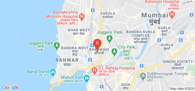 Sheila Raheja School of Business Management & Research (SRBS), Road Number 2, Kherwadi, Bandra East, Mumbai, Maharashtra, India