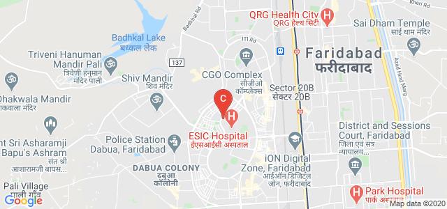 DAV Institute of Management, New Industrial Town, Faridabad, Haryana, India