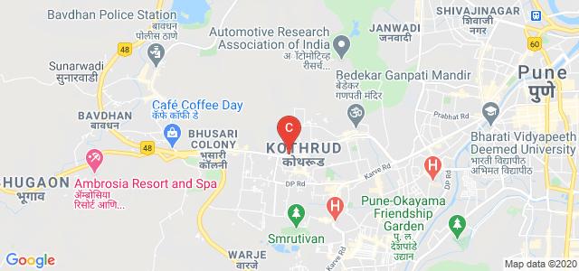 MIT World Peace University, Paud Rd, Rambaug Colony, Kothrud, Pune, Maharashtra, India