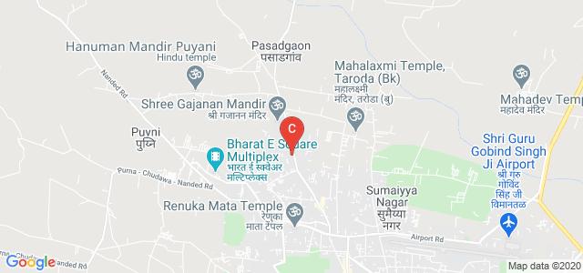 Shri Guru Govind Singhji Patrakarita Mahavidyalaya, Nanded Malegaon Road, Ashtvinayak Nagar, Taroda Kh., Maharashtra, India
